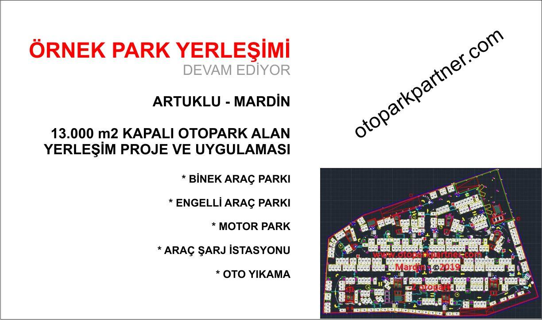 AVM Otoparkı Çalışması - Mardin