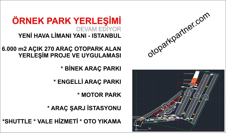 Istanbul Hava Limanı Yanı Otopark Çalışması